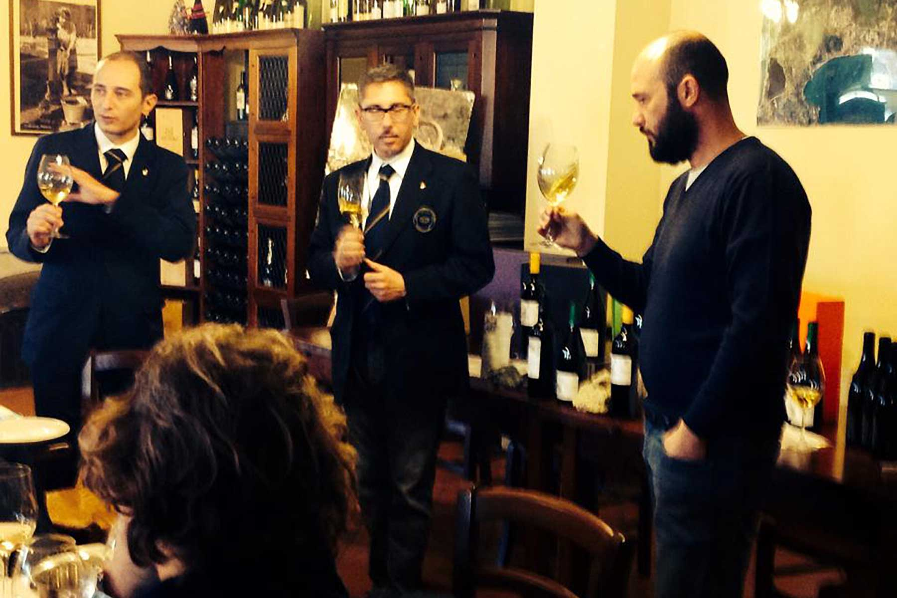 Cantine Astroni - wine tasting