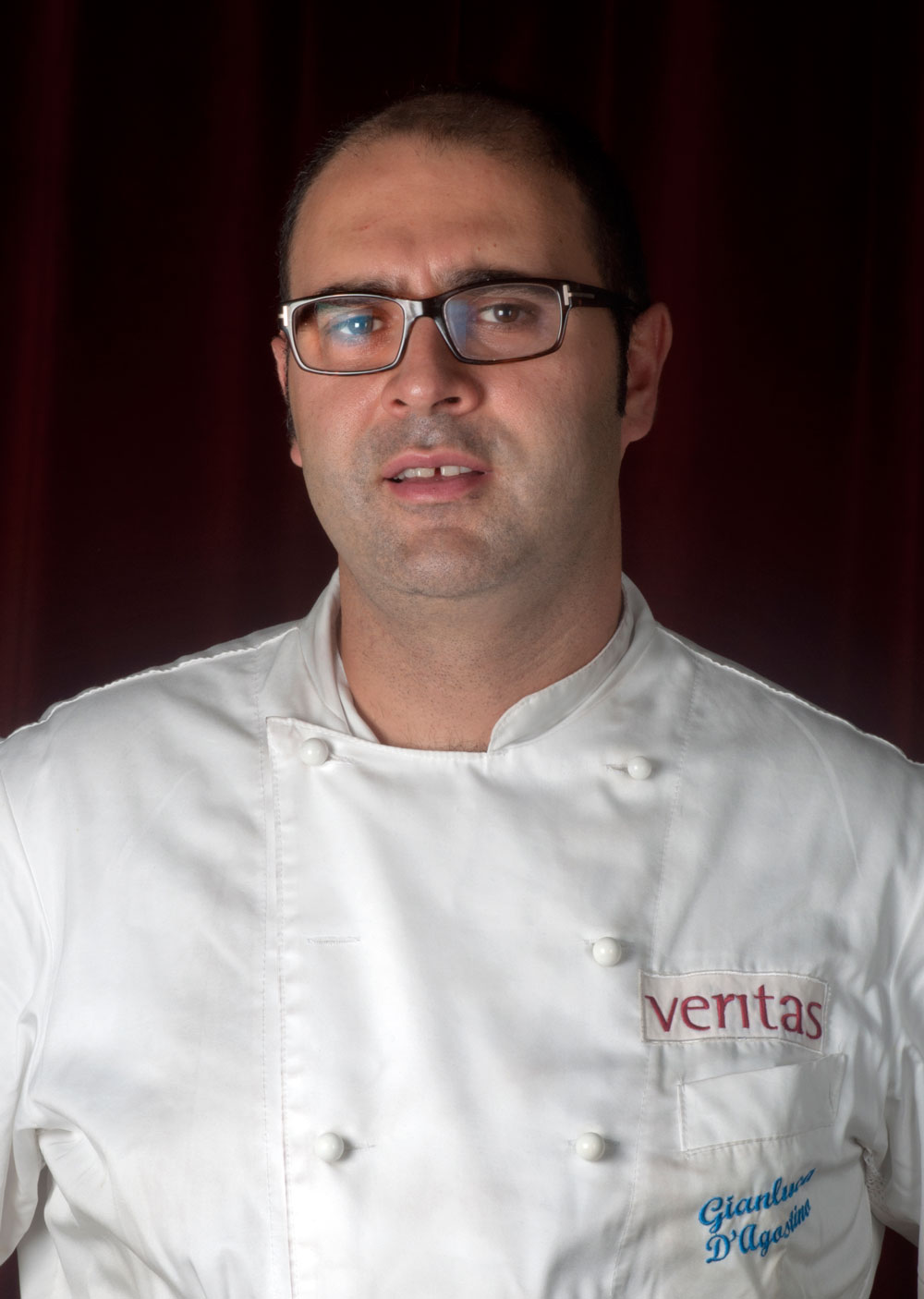 chef Gianluca D'Agostino